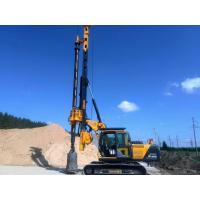 Wholesale Borehole Pile Rig Equipment Total Weight 24 Ton , Max Drilling Diameter 1m from china suppliers