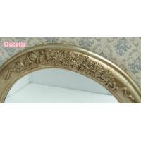 Quality Decorative vintage oval carved framed wall Mirror for sale