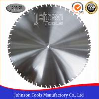 "Quality 36"" Diamond Wall Saw Blades for Heavy Reinforced Concrete / Bridge Deck Cutting for sale"