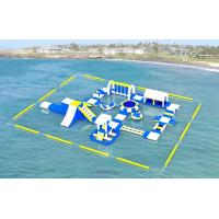 Quality Adult Inflatable Water Play Equipment For Sea / Inflatable Water Park Design Build for sale
