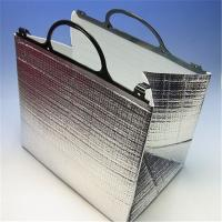 Wholesale Aluminum Foil Food Thermal Bags , Thermal Insulated Bags With Portable Handle from china suppliers