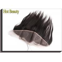 Wholesale Non Remy Human Hair 8 Inch Ear to Ear Top Lace Frontal Smooth Straight from china suppliers