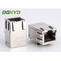Wholesale 25.4mm Integrated Ethernet RJ45 Connector 1000Mb Transformer rj45 jack cat6 w led from china suppliers