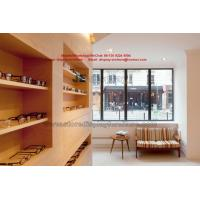 Wholesale Visual inspection center Wood fixture by wall display cabinet and Treatment table at the optician's. from china suppliers