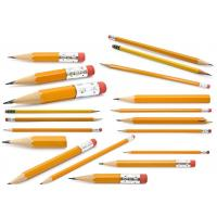 Wholesale Cheapest and Good Quality Black Lead School & Office Wooden Pencil with eraser from china suppliers