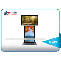 Wholesale Dual Screen Digital Signage Advertising Kiosk With Android Software Custom Logo from china suppliers