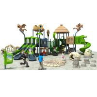 Wholesale LLDPE And Resin Commercial Playground Slides Dinosaur Theme Suitable For Park And Resort from china suppliers
