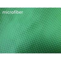Wholesale Green 150cm Width Microfiber Cleaning Cloth 300gsm Density Waffle Fabric Absorbent from china suppliers