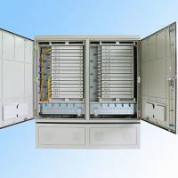 Wholesale IP 65 576FO Street Fiber Optic Joint Box Cabinet Stainless steel SMC Housing from china suppliers