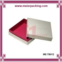 Wholesale High end paper packaging box for garment clothing ME-TB012 from china suppliers