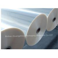Wholesale Thermal Lamination Transparent BOPP Film For Food Packaging 2400m - 2800m Length from china suppliers