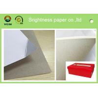 Quality 250g One Side Coated Grey Back Duplex Board Paper For Printing Box for sale
