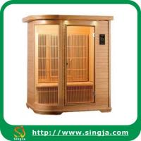 Wholesale Fashion Cedar Infrared Sauna Cabin with CD Player(ISR-06) from china suppliers