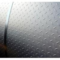 Roll Type Diamond Shape Low Carbon Perforated Matal Chequered Steel Plate for Factory / Floor Board