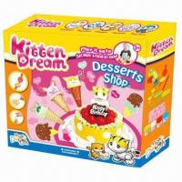 Buy cheap Desserts Shop Educational Toy, Non-toxic, Children's DIY sets, Develop intelligence, EN71 standard from wholesalers
