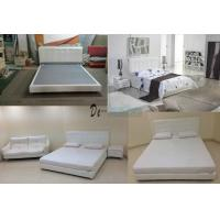 Buy cheap 6027,leather bed, living room home furniture,KD furniture from wholesalers