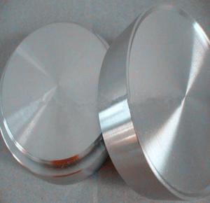 Wholesale 99.9% nickel round target Ni sheet target N201 N200 high purity N4 N6 pure nickel disc nickel target from china suppliers