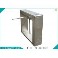 Wholesale Visitor Management Tripod Turnstile Gate , Card Reading Tripod Turnstile from china suppliers