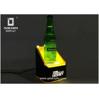 Wholesale Whisky Bottle Glorifier Glorifier Display Gold Yellow Light Body With Two Spotlight from china suppliers