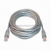 Quality Cat5e Networking Cable with Ivory 8P8C FTP Color Code, OEM/ODM Orders are Welcome for sale