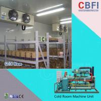 China Easy Installation Freezer Cold Room / Seafood Cold Room With Sliding Door / Swing Door on sale