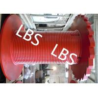 Quality Customized Grooved Winch Drum For Crane Winch And Drilling Winch for sale