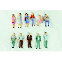 Wholesale P50-12 outdoor 1:50 Architectural Scale Model People Painted Figures 4.3cm from china suppliers