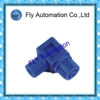 Wholesale Festo Air Pneumatic Tube Fittings l Shape For Nylon / Silicone Hose from china suppliers