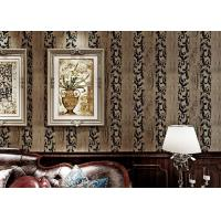Buy cheap Household TV Background Classic Design Wallpaper With Velvet Wall Covering , European Style from wholesalers
