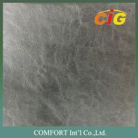 Wholesale Classic 1.2 - 1.8mm PVC Artificial Leather for Shoes Top with Non - woven fabric Backside from china suppliers