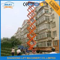 Wholesale 1000kgs 10m Mobile Manual Hydraulic Scissor Lift Table 1T 4 Wheel Mobile Lift from china suppliers