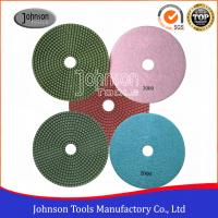Wholesale SGS Standard Diamond Wet Polishing Pads 180mm Diamond Resin Polishing Pad from china suppliers