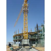 Wholesale Self Climbing Tower Crane Construction , 1.3T Tip Load 70m Self Erecting Tower Crane from china suppliers