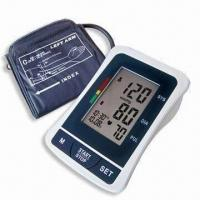 Wholesale Digital Blood Pressure Monitor with Arm-type, Date/Time Stamp and Deluxe Carry Case from china suppliers