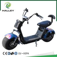 Wholesale HLX5 Halley Scooter Soflow Halley Electric Scooter With Fashion Bag And Hydraulic Absorber from china suppliers