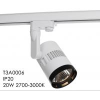 Wholesale Horizontal Rotation 350 Mounting LED Track Spotlights With 3 Circuit Track COB from china suppliers