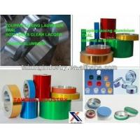 Wholesale Both Sides Clear Lacquer Aluminum Strip For Pharma Vial Seals from china suppliers