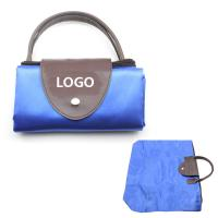 Wholesale Folding Shopping Supermarket Leather Bag Logo Customized Promotional Gifts from china suppliers