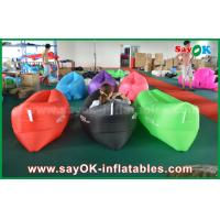 Wholesale Outdoor Beach Fast Filling Banana Sleeping Air Bag 200cm *90cm from china suppliers