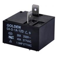 Wholesale General Purpose 40A DC Power Relay / Power PCB Relay GK-D-1C-12D from china suppliers