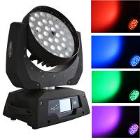 Quality Professional 36 PCS 10 Watt 4 In 1 Led Moving Head Lights Zoom  LCD Display  X-13 for sale