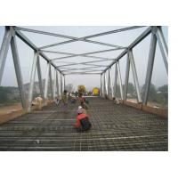 Quality Amphibious Steel Truss Prefabricated Delta Bridge Simple Structure for sale
