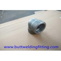 Wholesale Alloy 32750 STD UNS S32750 Forged Pipe Fittings 90 Degree LR Forged Elbow ASME B16.11 from china suppliers