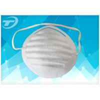 Wholesale Disposable dust mask made from polyester fabric with elastic band , white or blue color from china suppliers