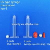 Wholesale Glue Dispensing Equipment Us Type 3cc Adhesive Empty Dispensing Syringe Barrel Pp from china suppliers