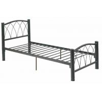 Wholesale Home Black Traditional Single Metal Bed Steel Frame With Storage from china suppliers