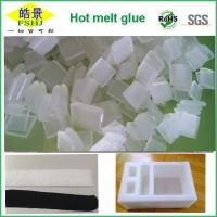 Buy cheap Transparent Hot Melt Glue Pellets Anti Yellowing Hot Melt Adhesive For EPE Foam from wholesalers