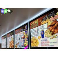 Wholesale Customized Single Side A3 LED Lightbox / Led Panel Light Box For Menu Sign from china suppliers