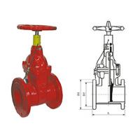 Wholesale Special fire signal resilient seated gate butterfly valve pressure 1.0 - 2.5MPa from china suppliers