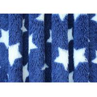 Wholesale Comfortable Star Pattern Print Berber Fleece Fabric Flame Retardant Cloth Lining from china suppliers